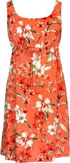 RJC Womens Classic Hawaiian Quilt Empire Tie Front Dress