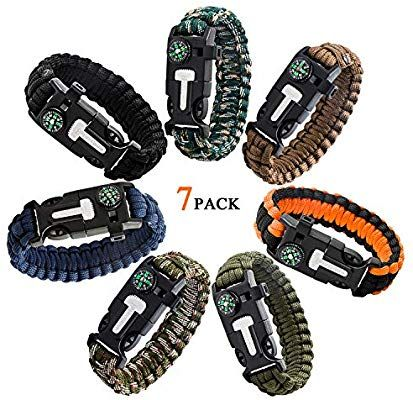 Amazon Com Epartswide Multifunctional Outdoor Survival Paracord