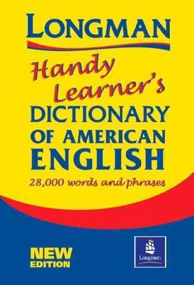 Precision Series Longman Handy Learner S Dictionary Of American