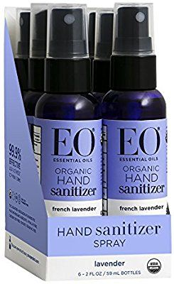 Amazon Com Eo Hand Sanitizer Spray Organic French Lavender 2