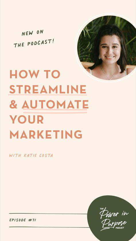 How To Streamline & Automate Your Marketing To Create A Marketing Machine