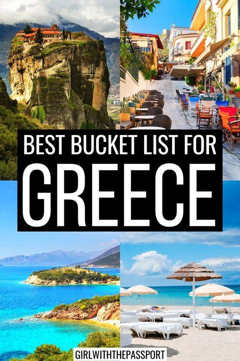 The Ultimate Greece Bucket List!