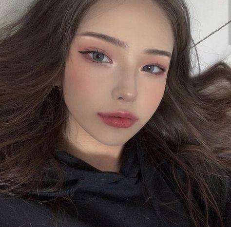 Korean Natural Makeup, Korean Makeup Look, Asian Makeup, Korean Beauty, Asian Beauty, Korea Makeup, Japanese Beauty, Natural Beauty, Pony Makeup