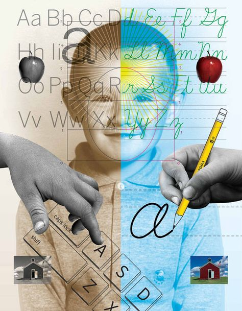 What's Lost as Handwriting Fades by Maria Konnikova, nytiimes: New evidence suggests that the links between handwriting and broader educational development run deep. #Handwriting #Learning #Memory #Creativity