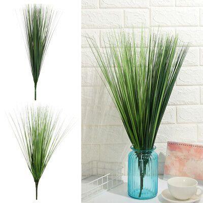 Artificial Leaf Onion Grass Plant Silk Fake Flower Wedding Party Home Decoration