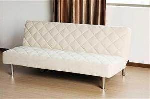 Italian Design F1 White Pu Leather Sofa Bed Futon Leather Sofa Bed Futon Sofa Leather Futon