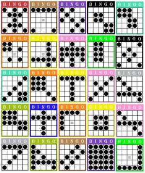 photo relating to Bingo Patterns Printable referred to as Watch the useful resource graphic Bingo Bingo types, Bingo video games