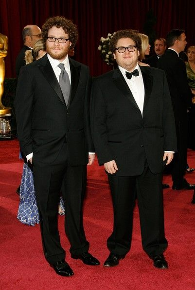 Seth Rogen And Jonah Hill, 2008 - The Cutest Oscar Red Carpet Moments Of The Decade - Photos