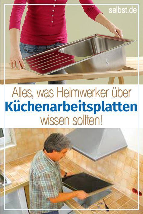 Küchenarbeitsplatte   WOHNEN   Küche arbeitsplatte ideen ...