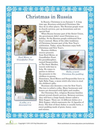 When Is Russian Christmas.Pin On Holidays