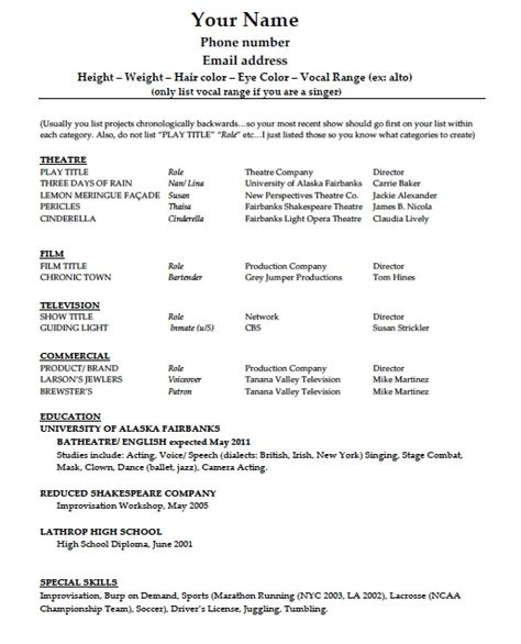 polaris office resume templates free example and writing wordpad - audition resume template