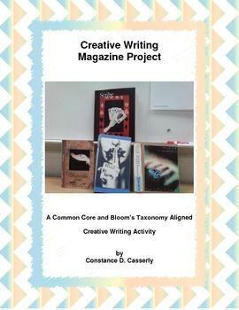 Writing Activity Creative Writing Magazine Project Creative