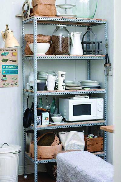 Different Shelving Manufacturers That Look Beautiful Decoracao De Cozinha Simples Decoracao Sala Marrom Estante Na Cozinha