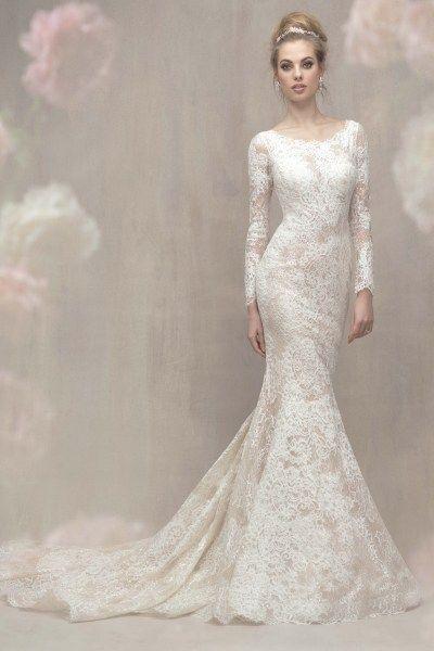 Allure C371 Gateway Bridal Prom Salt Lake City Utah Wedding Dress Shop Worldwide Sheath Bridal Gown Bridal Wedding Dresses Lace Bridal Gown