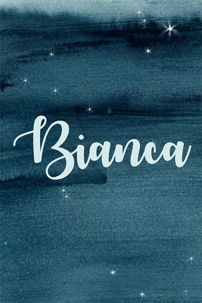 Bianca - Celestial Baby Names for Your Little Star - Photos