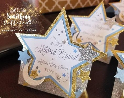 Twinkle Twinkle Little Star Baby Shower Decorations Place | Etsy