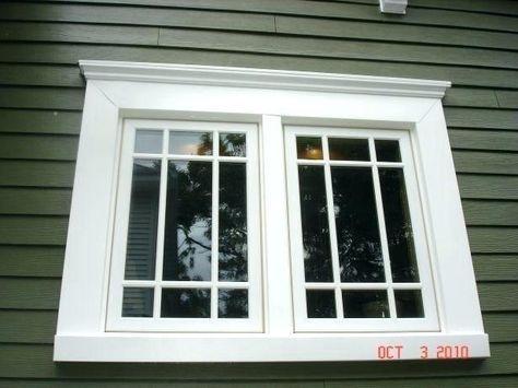 Exterior Window Trim Large 55 Ideas In 2020 Window Trim Exterior Windows Exterior Shutters Exterior