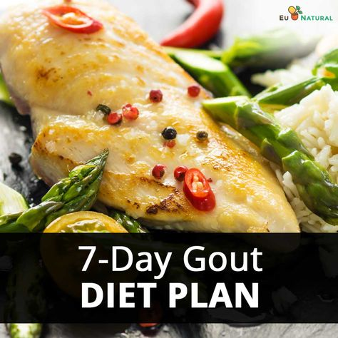7 Day Gout Diet Plan Top Foods To Eat Avoid For Gout Gout Diet