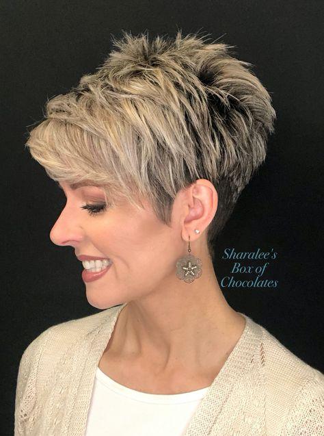 Short Spiky Hairstyles, Short Haircut Styles, Undercut Hairstyles, Pixie Haircuts, Cool Hairstyles, Short Stacked Hair, Short Choppy Hair, Long Pixie Cuts, Undercut Pixie