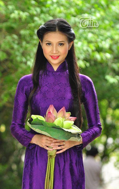 348 best Ao dai images on Pinterest   Vietnamese dress, Ao