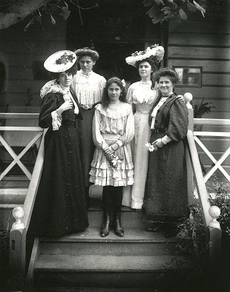 1900年代の世界のファッション(画像あり) | 1900 年代ファッション ...