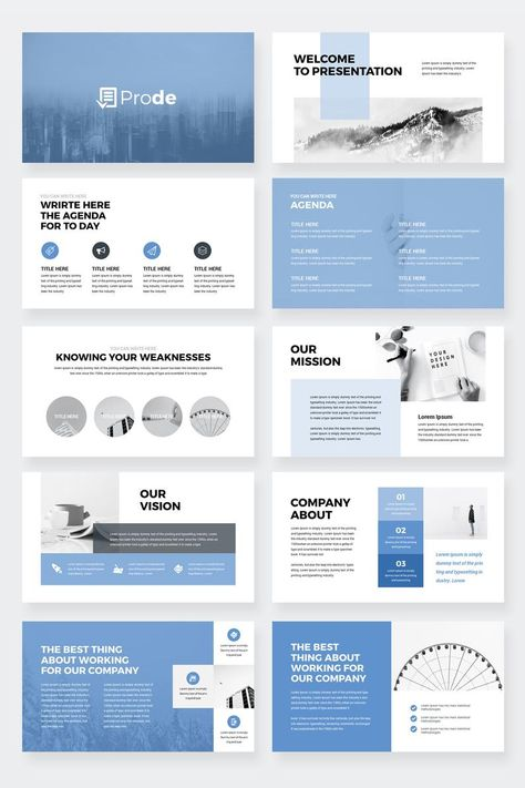 Prode - Business PowerPoint Presentation Template