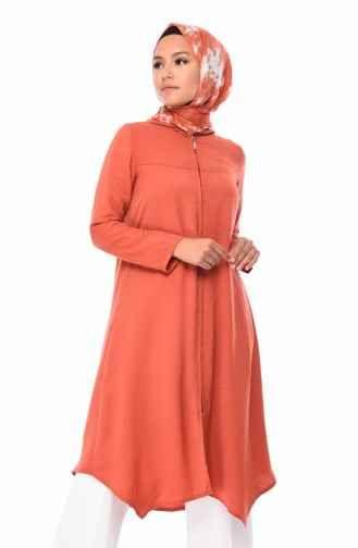 Sefamerve Kapsonlu Fermuarli Tesettur Tunik Modelleri Moda Tesettur Giyim Giyim Moda Basortusu Modasi