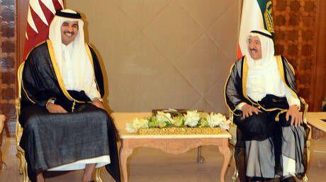 أمير قطر يزور نظيره الكويتي في الولايات المتحدة