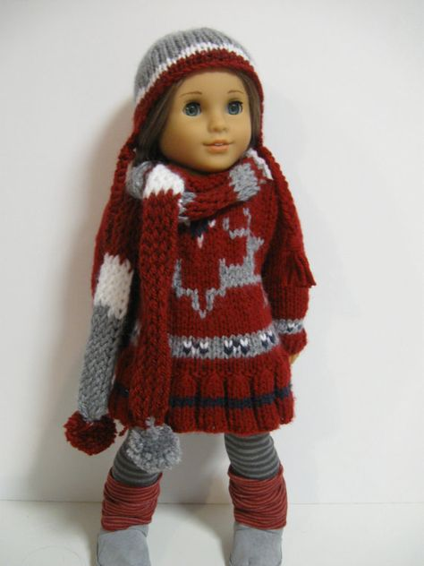 American Girl Doll Clothes  Winter Collection by 123MULBERRYSTREET, $38.00