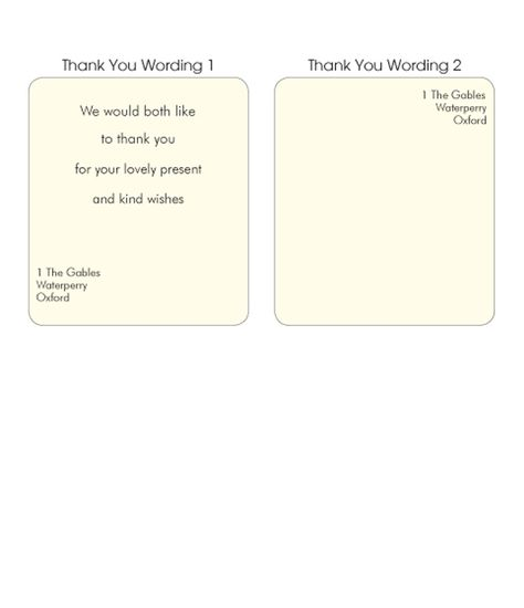 Wedding Thank You Note Wording belated wedding thank you note - fresh gartner certificate templates