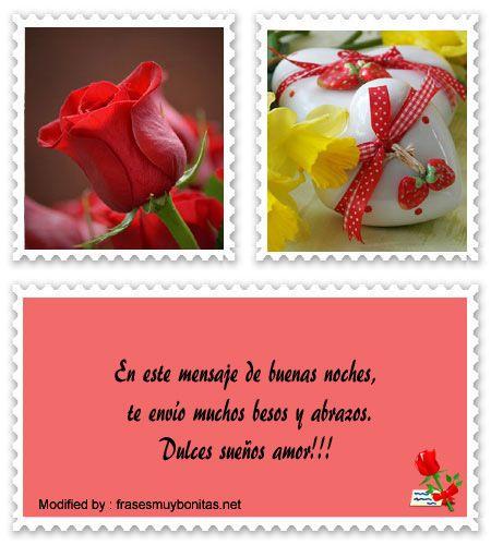 Frases Cariñosas De Buenas Noches Para Mi Novio Buenas
