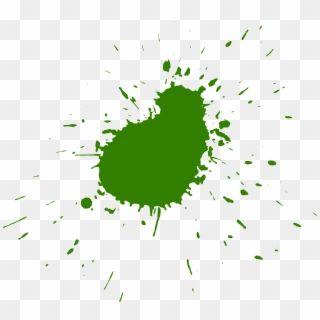 10 Green Paint Splatters Splash Paint Green Png Transparent Png Watercolor Splash Color Splash Painting