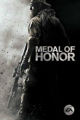 92323 Medal Of Honor Gaming Calm Decor Laminated Poster Ca Medal Of Honor Gaming Pc Medals