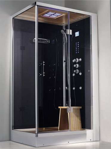 Zen Brand New 2 Person Right Hand Walk In Corner Steam Shower 47 X 36 X 89 Steam Showers Shower Stall Steam Shower Units