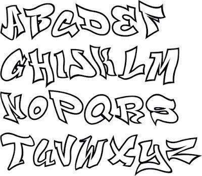 Graffiti Letters A Z Graffiti Abc Graffiti Buchstaben Graffiti Schrift Graffiti Schriftart