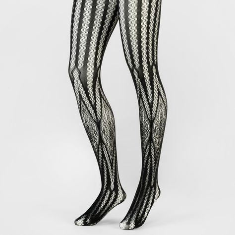 deeea97094004 Keep your legs center stage with the Lattice Net with Lace Tights from A  New Day™. These tights bring a vintage-inspired update to the bold fishnet  style ...