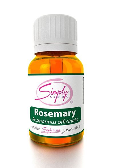 Hair Loss Muscle Pain Immune System Memory Retention Gently soothes away the tension For clarity of thought – Take a few drops in your hand and rub your hands together  and cup over your mouth and nose to flood your senses for a few minutes. For dandruff – You can add Rosemary oil to your existing shampoo and rinse your  hair with water every day. For extreme nausea – Rosemary oil can be used aromatically by holding it under  the nose directly. by #SimplyAroma