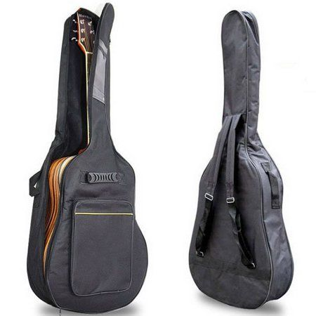 World Tour Gba100 Deluxe Acoustic Guitar Gig Bag Italianinteriordesign Guitar Bag Acoustic Guitar Backpack Free
