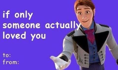 Frozen funny valentines  Lol  Pinterest  Frozen funny Funny