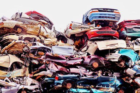 Junk Cars Scrap Car Vehicles Car