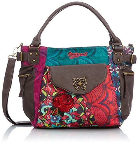 Addition Size BurgundyOne Cross Body BagLight Mcbee Desigual GLqMVjSpzU