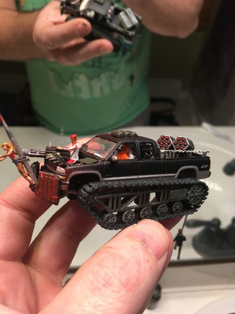 Gaslands Dropped Weapons MDF