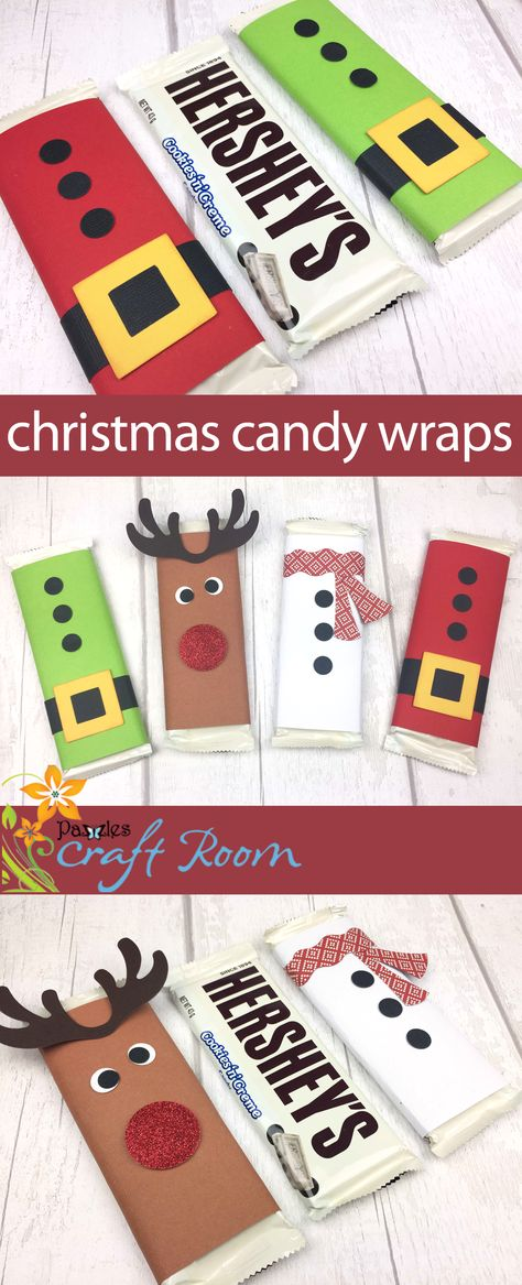 These cute Christmas Candy wrappers are great for making in multiples on a budget. Use as student or office gifts, as stocking fillers or hung on a tree with some ribbon attached for tree decoration. Christmas Gift Quotes, Christmas Candy Crafts, Christmas Presents For Friends, Office Christmas, Christmas Party Decorations, Christmas Gifts For Kids, Handmade Christmas, Holiday Decorating, Candy Gifts