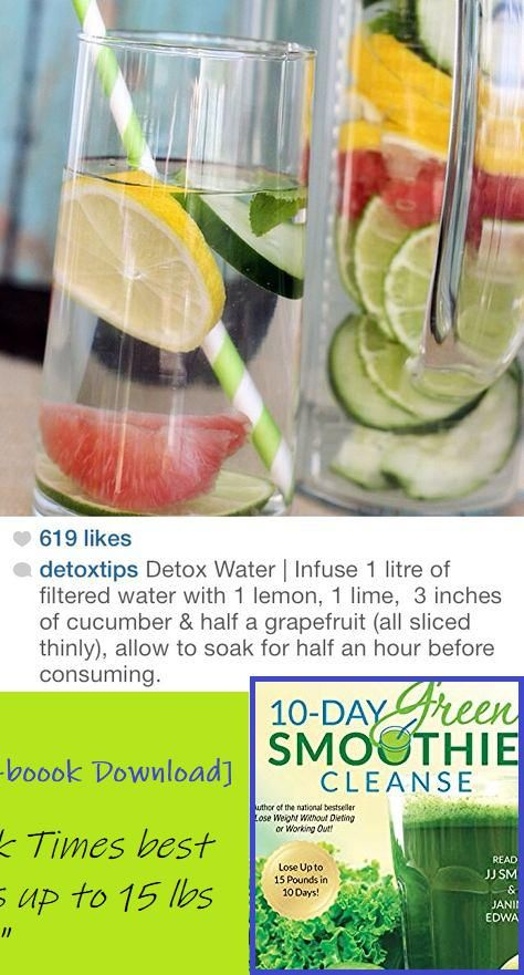 detox water by using filtered water
