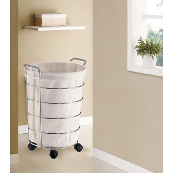 Collapsible Laundry Clothing Hamper With Wheels Laundry Hamper