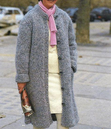 Hausschuhe Herren : strickjacke grobstrick grau damen