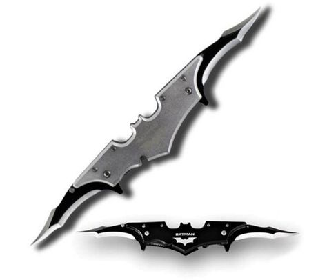 Batarang, pocket knife..bought this for the boyfriend for Christmas! Can't wait to give it to him!
