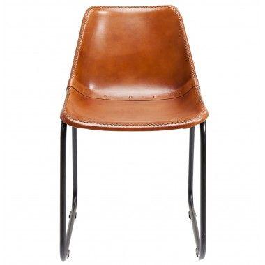 Chaise Vintage Cuir Marron Kare Design Chaise Vintage Chaise Cuir Cuir Vintage