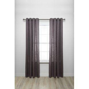 Winston Porter Lecuyer Single Curtain Rod Wayfair Curtains Cafe Curtain Rods Modern Curtain Rods