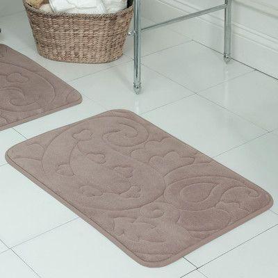 Astoria Grand Farlow Plush Memory Foam Bath Mat Bath Mat Memory Foam Bath Mat Sets